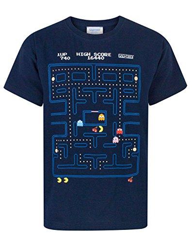 Jungen - Pac Man - Pac-Man - T-Shirt (9-10 Jahre)