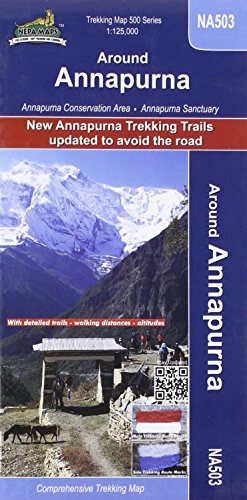 Around Annapurna 1 : 125 000