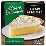 Savor our 'sky high' golden-brown meringue atop a zesty, creamy lemon filling, all wrapped up in Marie Callender's famous flaky, made-from-scratch crust The whole family is sure to love the homemade taste of Marie Callender's large dessert pies No ar...