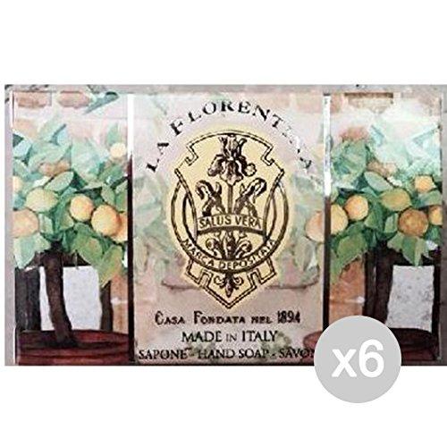 Juego 6Mario fijos Jabón Individual caja limonaia 150g Limpieza y Cuidado del Cuerpo