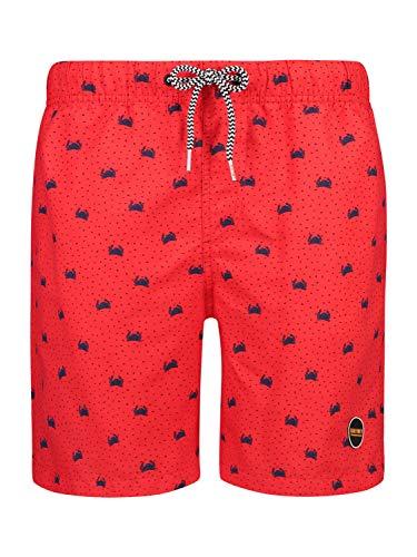 Shiwi Herren Boardshorts Crabby rot L