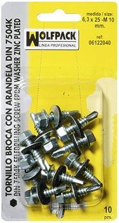 Fixman 613208 Tuercas de Mariposa Set de 40 Piezas Plata