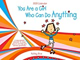 """Blue Mountain Arts 2020 Calendar """"You Are a Girl Who Can Do Anything"""" 9 x 12 in. 12-Month Hanging Wall Calendar Is a Perfect Gift for Tweens, by Ashley Rice"""