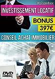 INVESTISSEMENT IMMOBILIER LOCATIF - Livre+1DVD de Formation, Comment gagner de l'argent dans l'immobilier