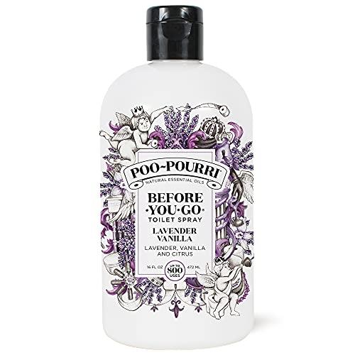 Poo-Pourri Before-You-go Toilet Spray,Lavender Vanilla Scent, 16 Fl Oz