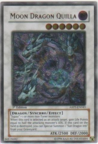 Yu-Gi-Oh.–Moon Dragon Killa (abpf-en043)–Absolute Powerforce–Unlimited Edition–Ultimate selten by Yu-Gi-Oh.