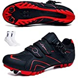 ZFY Zapatos De Ciclismo Unisex para Hombre Zapatos Deportivos De Verano Zapatos De Bicicleta Transpirables para Exteriores Zapatillas De Carreras MTB Zapatillas De Ciclismo,B-46