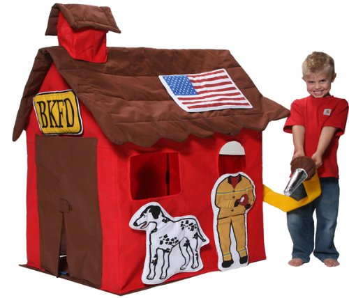 Bazoongi Fire Station Play Tent