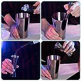 Zoom IMG-1 navaris kit cocktail shaker professionale