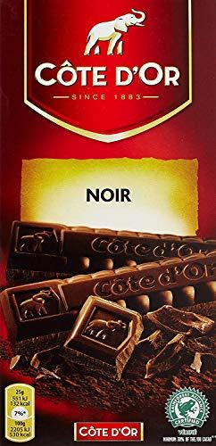 Cote d ´ or belga Chocolate Bar scuro 200 gr [PACK di 1]