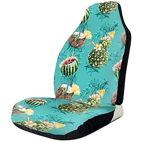 Autostoelhoezen Kokosnoot sap Ananas Watermeloen Seat Protectors