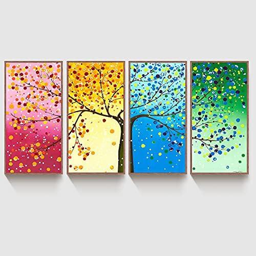 4 seasons wall art _image1