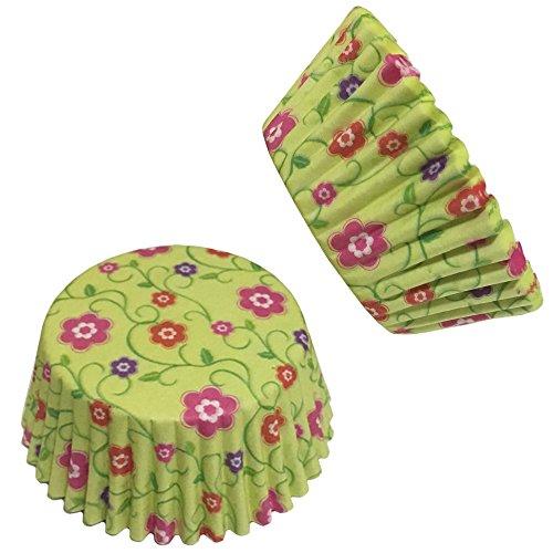 Beiersi Plusieurs Styles-Lot de 100 Caissettes Cupcake Papier pour Muffins Moule Assorties Pâtisserie Décor Noël Halloween Soiree de Mariage (Style 7)