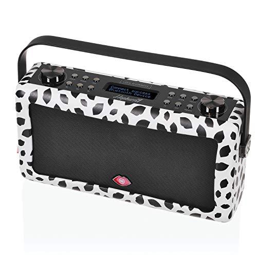 VQ Hepburn Mk II - Radio digital DAB & DAB+, diseño Lulu Guinness Labios Negros