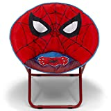 Delta Children Saucer Chair for Kids/Teens/Young Adults, Spider-Man