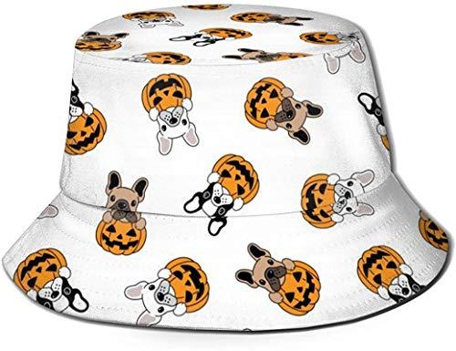 Sombreros de cubo transpirables con parte superior plana Unisex Textura de vaca Sombrero de cubo de piel con manchas blancas y negras Sombrero de pescador de verano-Tablas de surf de surf-Talla única