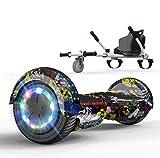 SOUTHERN WOLF Hoverboard per Bambini, Hoverboard con Altoparlante Bluetooth per Scooter Elettrico...