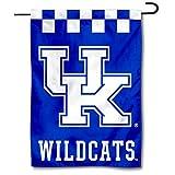 College Flags & Banners Co. Kentucky Wildcats Checkerboard Garden Flag