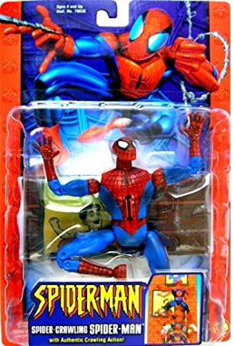 Spider-Crawling Spider-Man with Authentic Crawling Action