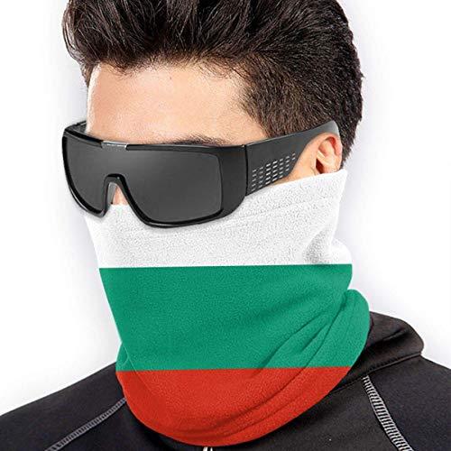 Nother Máscara de microfibra para el cuello de la bandera de Bulgarien para exteriores, resistente al viento, a prueba de polvo, color negro