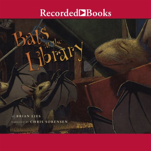 Bats at the Library audiobook cover art