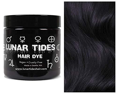 Lunar Tides Haarfärbemittel Semipermanenter Haarfarbstoff Eclipse Black Schwarz