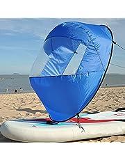 SHUOGOU 42 Pulgadas Downwind Kayak Vela Paddle Kit, Canoa Kayak Vela Kayak Accesorios, Instalación fácil y se Despliega Rápidamente & Compacto y Portátil