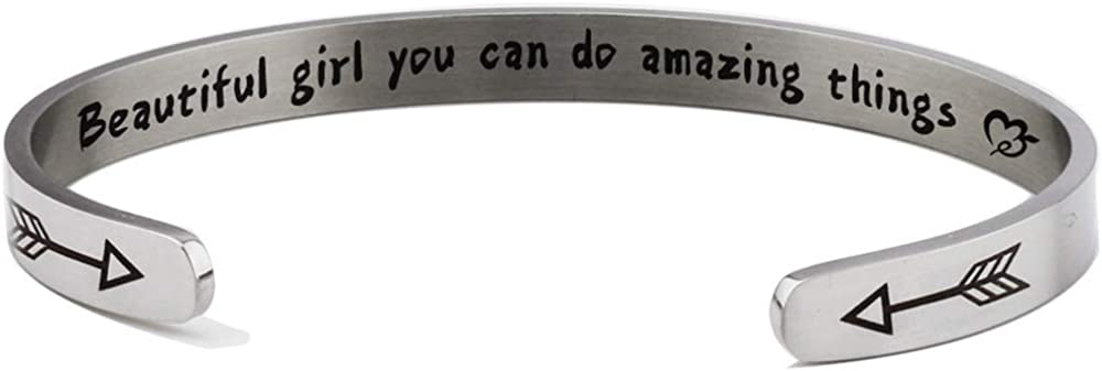 000X Stainless Max 59% OFF Steel Inspirational Scho Encouragement OFFicial Graduation