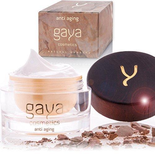 Gaya Cosmetics Tagescreme Anti Aging Gesichtscreme - Day Cream Veganer Face Moisturiser für ein frisches revitalisiertes Gesichts & Hautbild