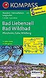 Bad Liebenzell - Bad Wildbad: Wanderkarte mit Aktiv Guide, Radwegen und Loipen. GPS-genau.1:25000: Wandelkaart 1:25 000 (KOMPASS-Wanderkarten, Band 873) - KOMPASS-Karten GmbH