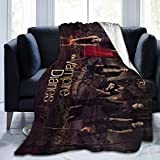 Leisure Outdoor Micro Fleece Blanket Soft and Warm Winter Throw Ultra-Soft Lightweight Plush Bed Couch Blanket Living Room