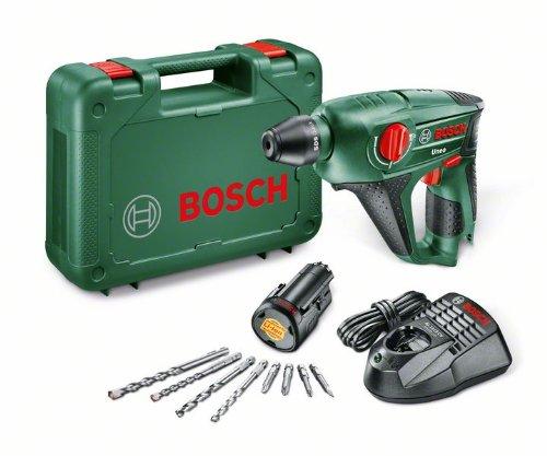Bosch Akku Bohrhammer Uneo (1 Akku, 10,8 V, im Koffer)