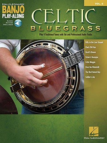 Celtic Bluegrass: Banjo Play-Along Volume 8 (Hal Leonard Banjo Play-along)