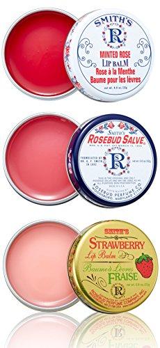 Rosebud Three Lavish Layers Lip Balm 08 Ounce