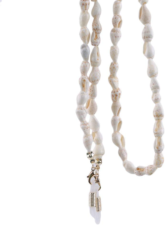 Mvude Women Girls Special price Small Conch San Antonio Mall Eyeglass Sunglasses Chain Jewelry