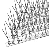 Best Bird Repellents - OFFO Bird Spikes with Stainless Steel Base, Durable Review