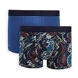 Ted Baker London 2 Pack Cotton Stretch Trunk Bañadores Ajustados para Hombre, Multicolor, XL