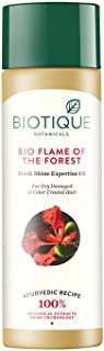 Biotique Flame Forest Fresh Shine Expertise Oil 120 ml