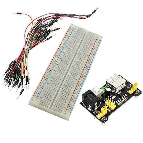 ouying1418 MB-102 Solderless Breadboard Protoboard 830 Tie Points 2 buses Test Circuit