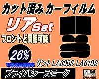 A.P.O(エーピーオー) リア (b) タント LA600S LA610S (26%) カット済み カーフィルム LA600系 LA610系 タントカスタム ダイハツ