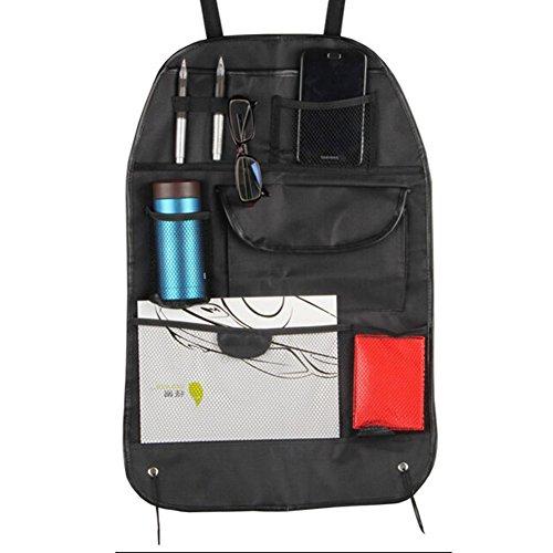 Auto Supplies Voiture Organiseur pour dossier de siège de suspension type de sac de rangement, Noir