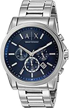 Armani Exchange Men's Stainless-Steel Quartz Watch