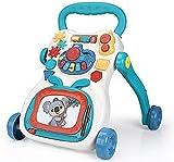 Baby Toysbaby Walker Trolley EducacióN Temprana Educativo Bebé Multifuncional Andador 3 En1 Juguete Musical Antivuelco Juguetes para BebéS 6 Meses MáS,Verde