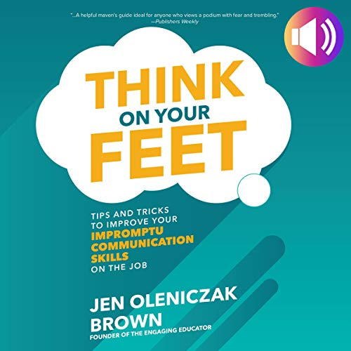 Think on Your Feet audiobook cover art