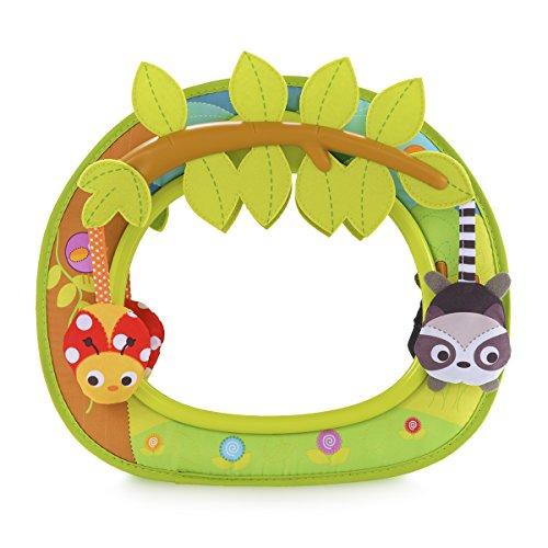 Brica by Munchkin Espejo de coche Baby In-Sight Swing, los animales se columpian para un viaje divertido