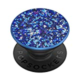 PopSockets: PopGrip with Swappable Top for Phones and Tablets - Sparkle Peacock