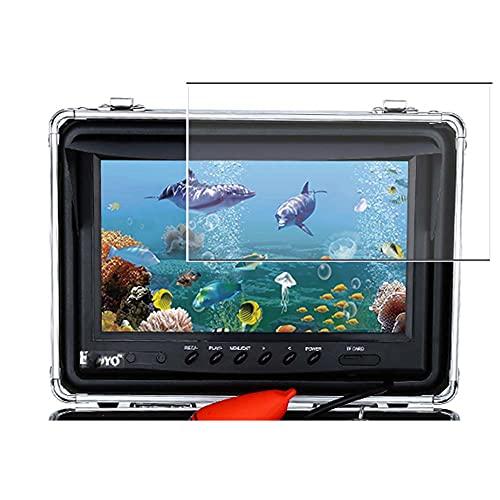 Vaxson 3 Unidades Protector de Pantalla, compatible con Eyoyo Underwater Fishing Camera Monitor WF09-15M 30M 9' [No Vidrio Templado Carcasa Case ] Película Protectora Film Guard