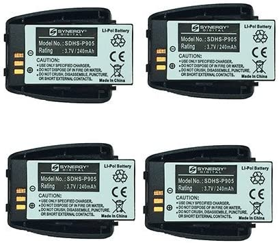 Vtech VCS704-WM Cordless Cheap bargain Phone Battery x Combo-Pack High material 4 includes: