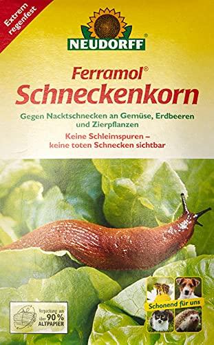 Neudorff 672 Ferramol Schneckenkorn, 1000 g