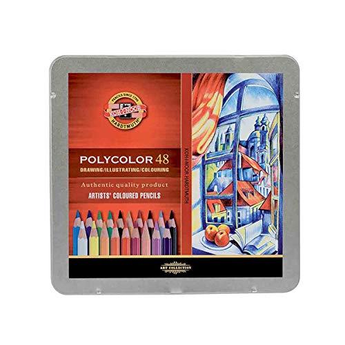 Koh-I-Noor Polycolor 48 - Lápices de colores (48 unidades)